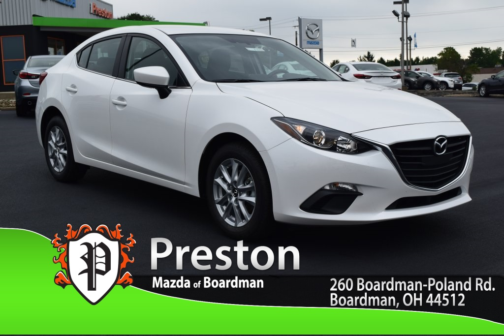 new 2016 mazda mazda3 i sport 4d sedan in boardman m162363 preston mazda. Black Bedroom Furniture Sets. Home Design Ideas