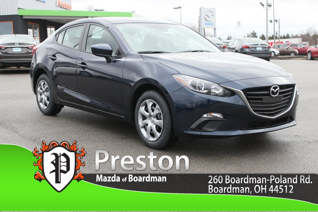 new 2016 mazda mazda3 i sport 4d sedan in boardman m161327 preston mazda. Black Bedroom Furniture Sets. Home Design Ideas